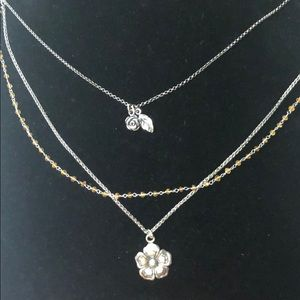 Jewelry - Sterling Silver and Citrine Necklace.